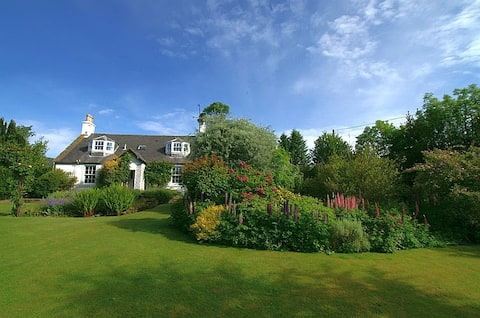 Encantadora casa de campo rural, jardín aislado