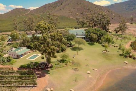 Zandrivier Estate Farmhouse - Robertson - Talo