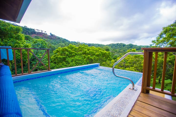 View home with private Pool in Central Roatan