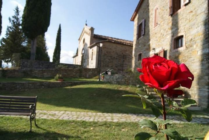 B&B heart of Tuscany-Italy- Toscana - Poggio D'acona - Apartment