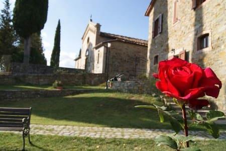 B&B heart of Tuscany-Italy- Toscana - Poggio D'acona - Квартира
