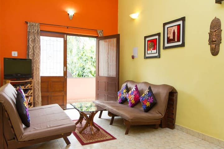 Goan Alcove - 2BHK AC Luxury Apartment