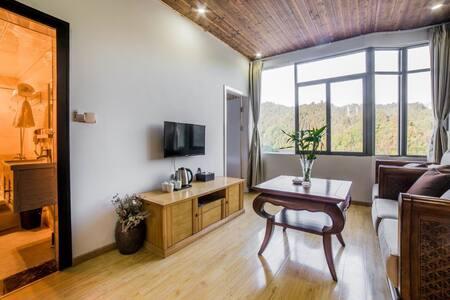 井冈山风景区两房一厅全景亲子套房