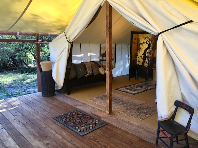 Majestic Tent Cabin at Venture Retreat Center