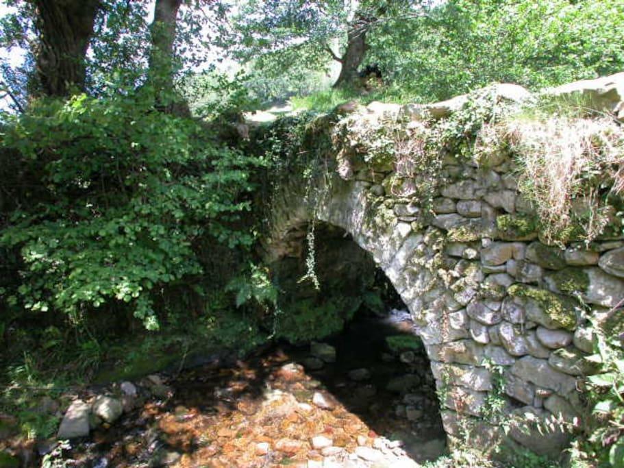 Puente Medieval de acceso al molino