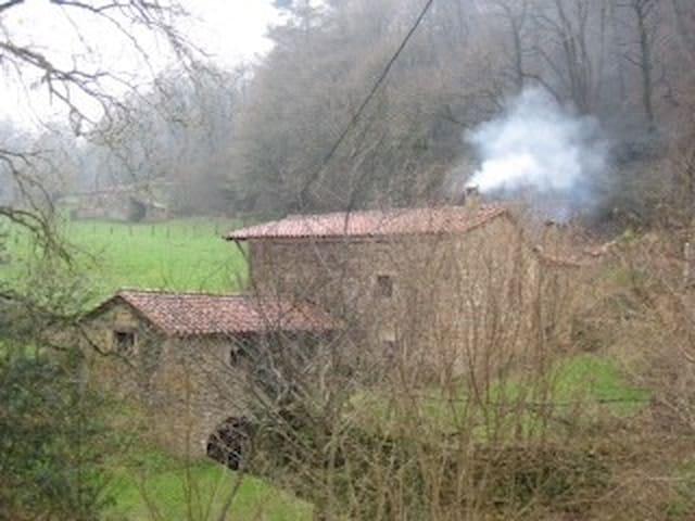 CASA MOLINO en Valles Pasiegos.LLERANA - Saro - Haus