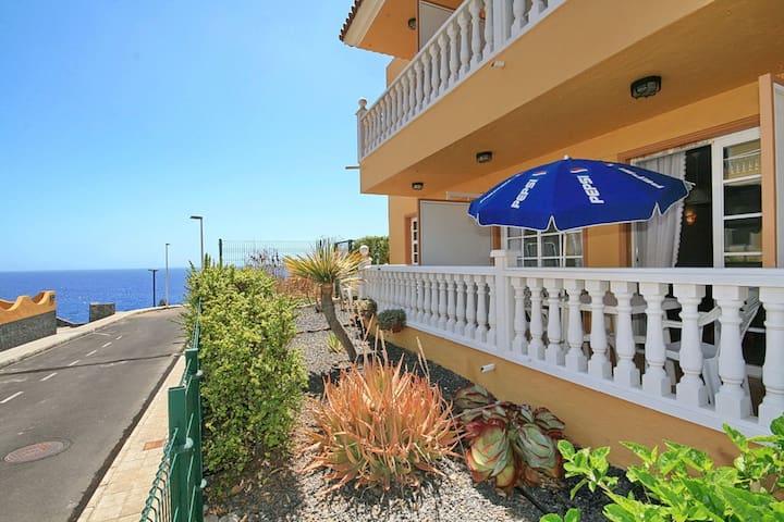 Schöne Ferienwohnung mit Pool - Puerto de Naos - Apartamento