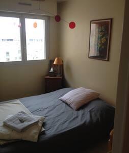 Chambre + SdB/wc privatifs - Rennes - Apartament