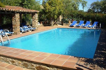 Casita Tinao 4 pax piscina compart - La Aceña de la Borrega - บ้าน