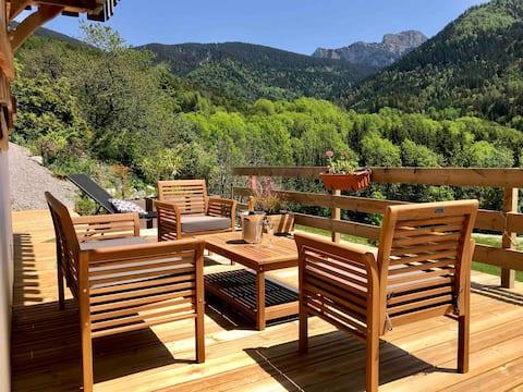 Chalet Eterlou 60 m2 de charme en montagne