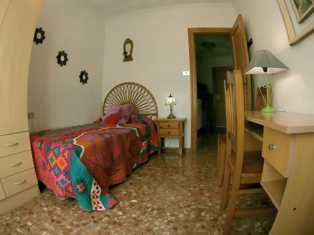 habitación 4 cama individual