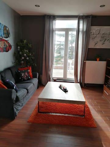 Appartement lumineux à proximité de Bruxelles