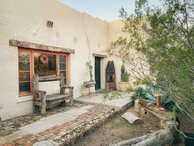 """The """"Mud House"""" - A beautiful southwest adobe home"""