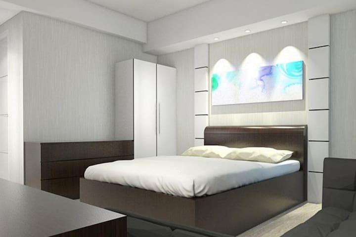 Spacious Designer 1 Bedroom Apartment, Pakuwon Mal