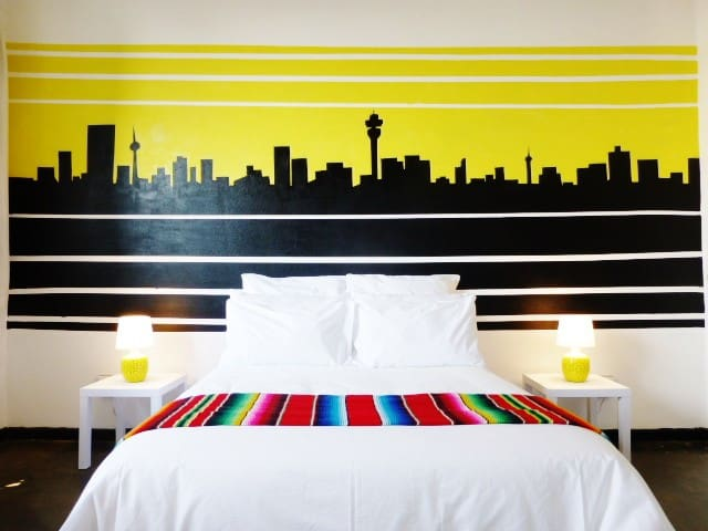 Bright Studio in Joburg City Centre - Johannesburg - Apartment