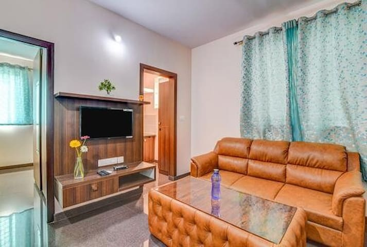 Entire premium flat 1 BHK in JP Nagar - P3