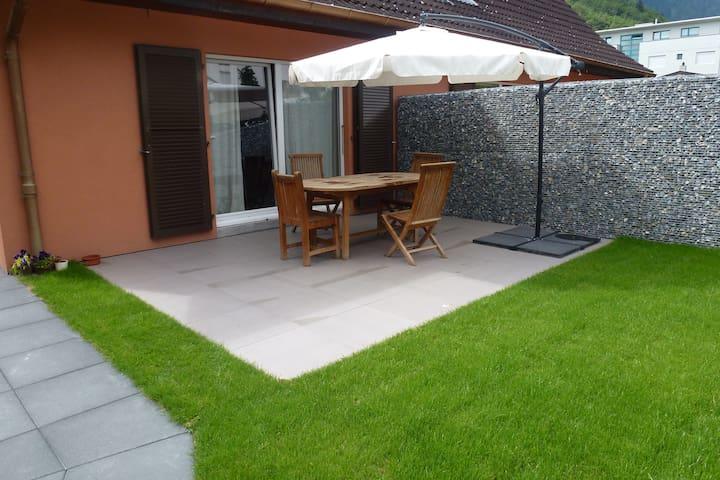 Appartement 90M en duplex terrasse - Martigny