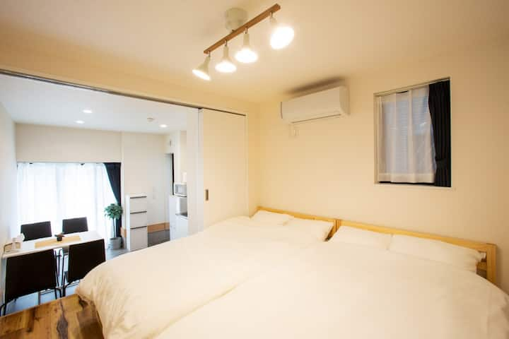 25㎡/Str Akb, Sjk/WiFi/3mn sta/Free Parking/SP1