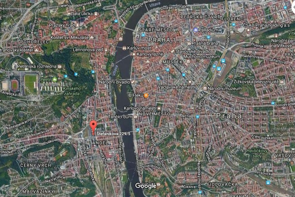 Location in heart of Prague!