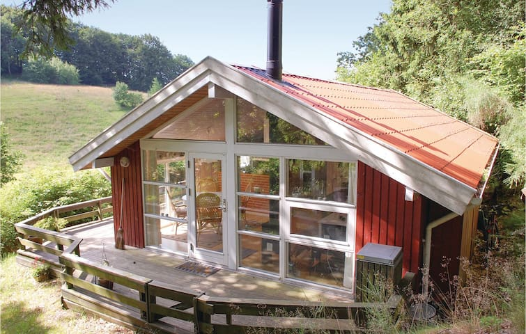 Holiday cottage with 1 bedroom on 57m² in Ebeltoft
