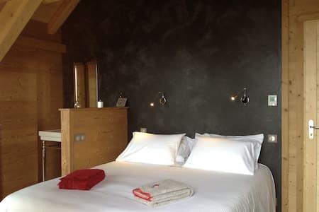 Appartement de standing style chalet vue montagne - Saint-François-Longchamp