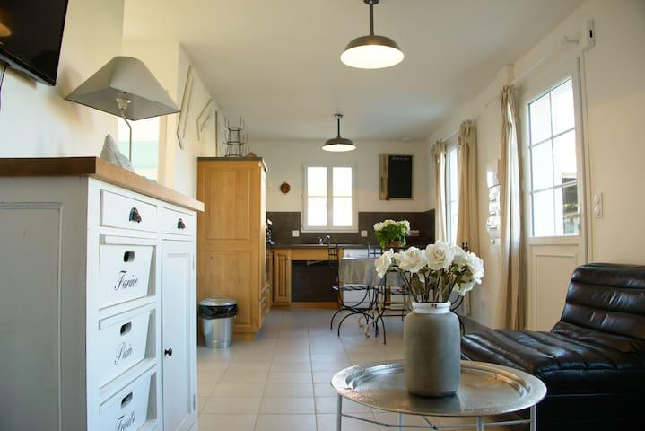 Gite Brocante : 4 personnes - Offekerque - Wohnung