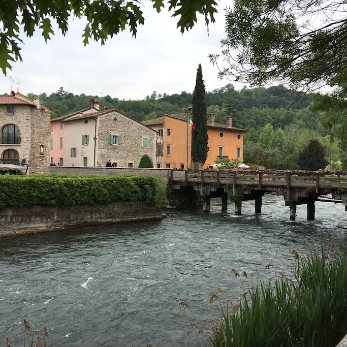 Casa balbi at parco sigurt also for disables case in for Case arredate in affitto a valeggio sul mincio