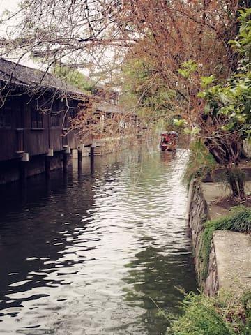 南浔古镇景区内江南原木家庭房 - Huzhou - House
