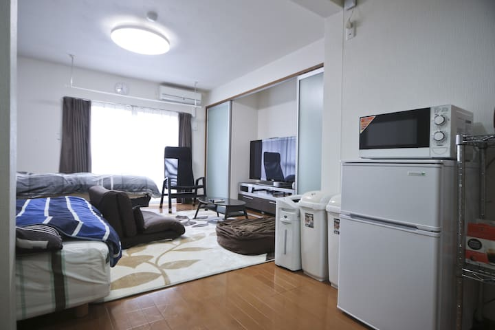 SAITAMA near station FreeMobil WiFi - さいたま市 - Apartamento