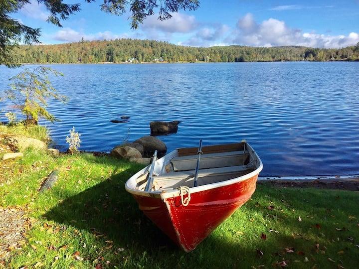 All Season Fish Cabin on Lake Colby, Saranac Lake