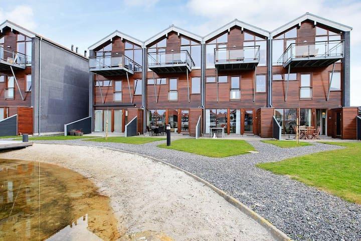 Modern appartement in Bogense met terras