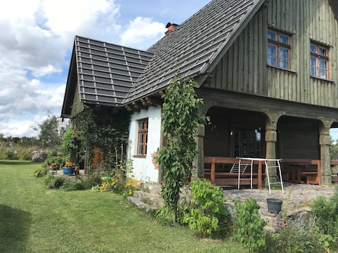 Kashubian House, entre lagos y bosques