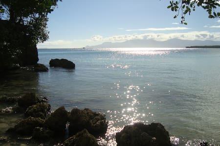 Appt T2 sur plage + piscine, Le Gosier Petit-Havre