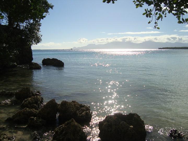 Superbe T2 sur plage + piscine, Gosier Petit Havre