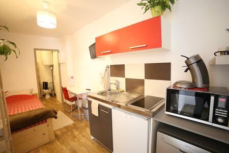 Studio en maison - tout équipé