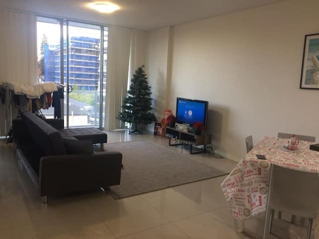 Airy one bedroom for the festive season!