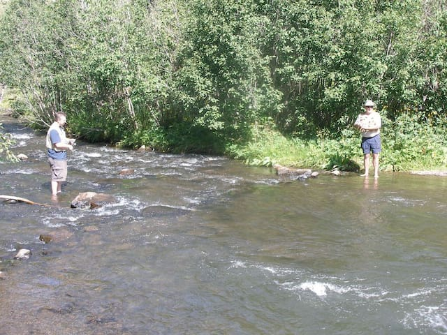 Do a little fly fishing nearby