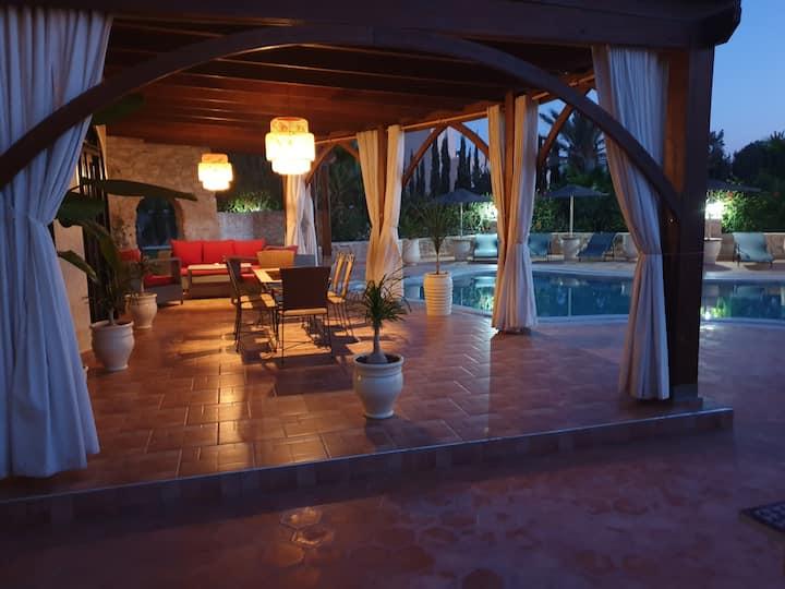 Chambre Zitoun à la Villa DARFAIZA Essaouira