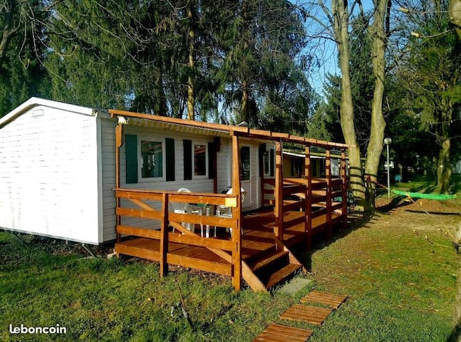 Mobil Home 3chambres, camping le Ried ***