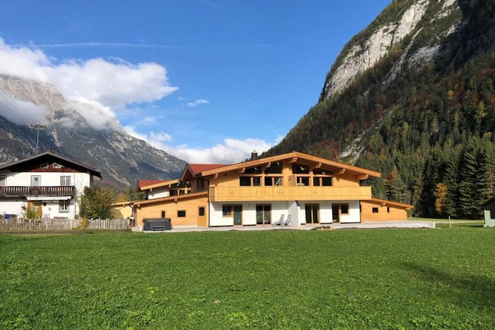 Brilliant Holiday Home in Leutasch Tyrol with Garden