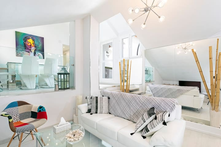 Lovely loft apartment at the heart of Benalmadena