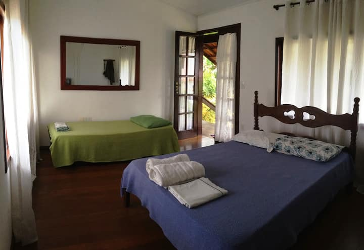 Suite para 3 pessoas perto de Meaípe