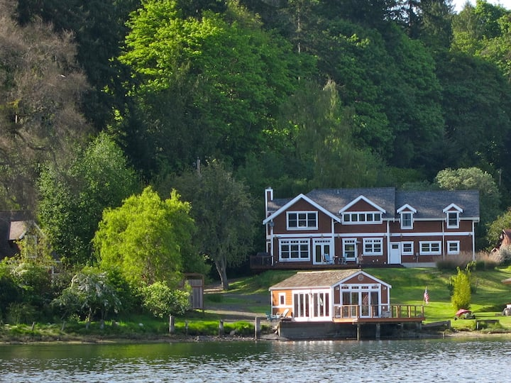 Bay-View Home with Private Dock - Near Ferry
