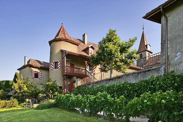 Belle suite au Château avec vue - Allaman - Schloss