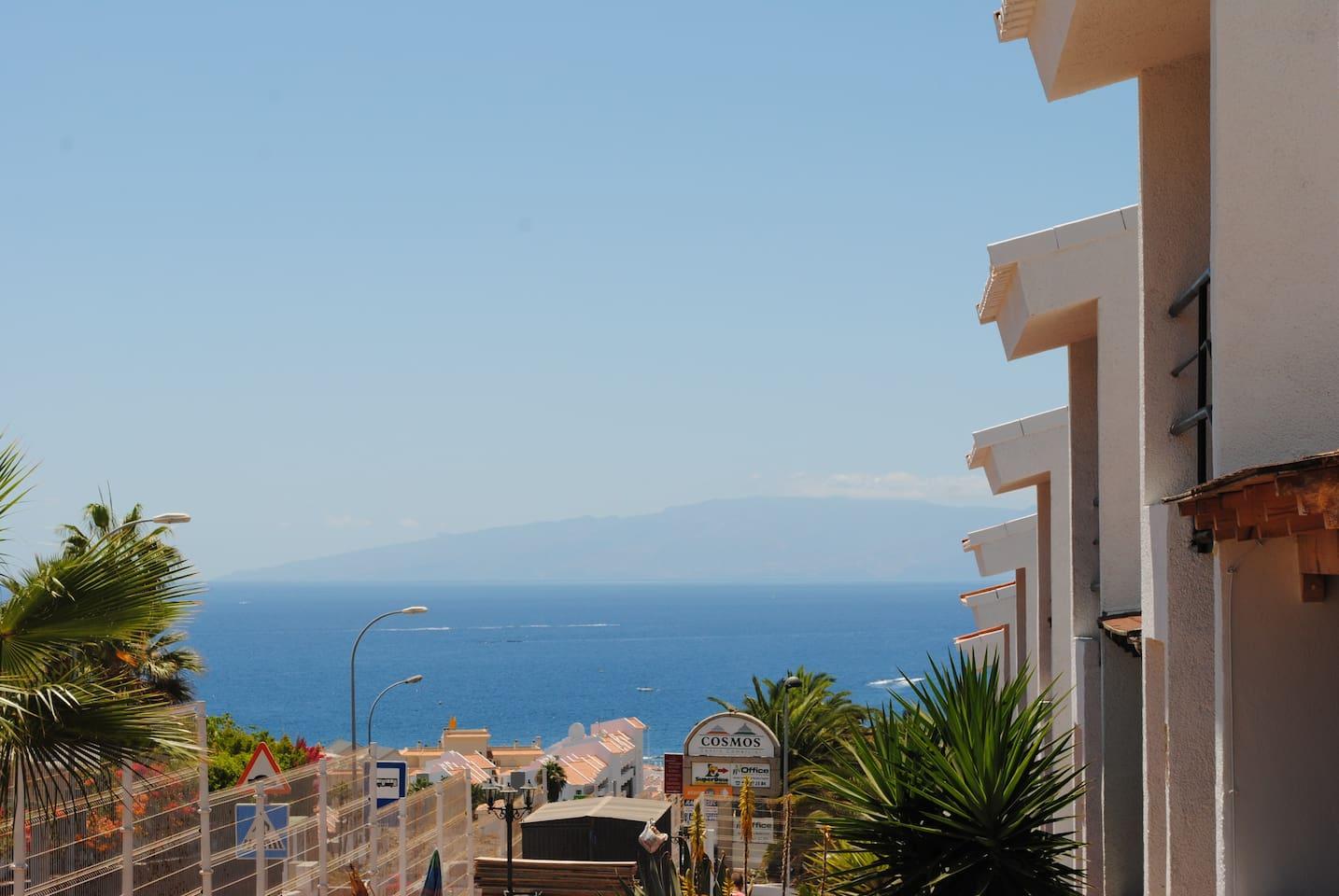 exelentes vistas panoramicas  fuera del apartamento !