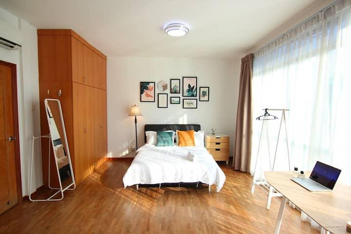 Comfy Private Suite 301 @ City