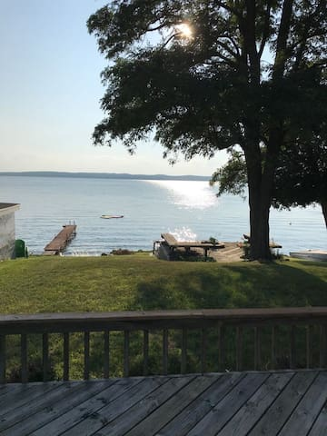 Waterfront Vacation Home Directly on Hubbard Lake