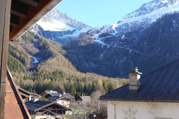 Comfy Basic Mountain Base - large studio apartment - Chamonix-Mont-Blanc - Flat