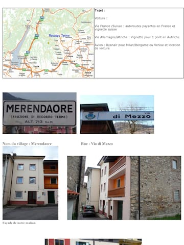 Maison en montagne en Italie du nord - Merendaore - Talo