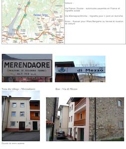 Maison en montagne en Italie du nord - Merendaore